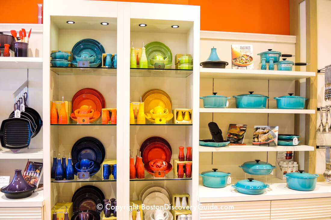 Le Creuset Factory Store at Boston's Assembly Row