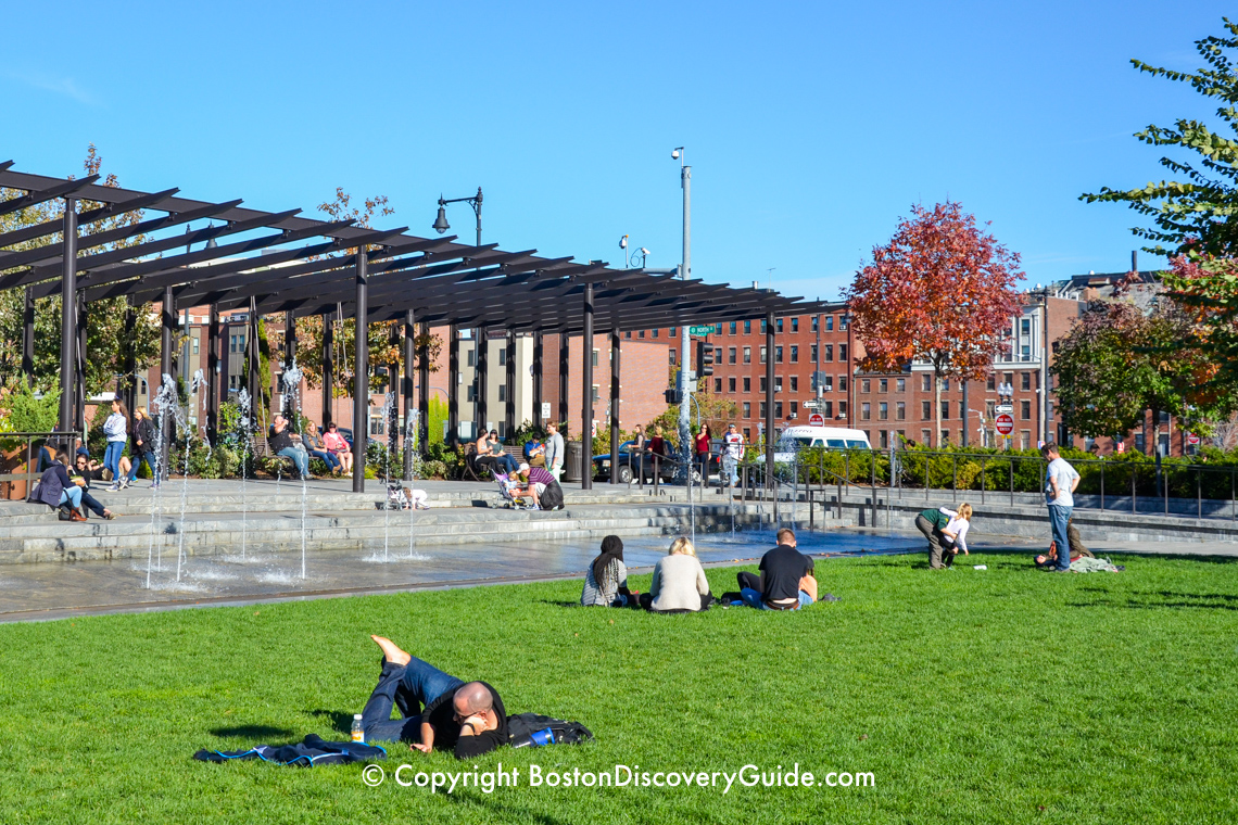 Rose Kennedy Greenway Park  8 Fun Things to Do  Boston