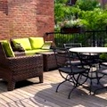 Rooftop deck at Beacon Hill Hotel in Boston