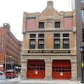 Photo of Boston Fire Museum in South Boston Waterfront, where you can see fire-fighting equipment dating back to the 1700s / Boston Museums - www.boston-discovery-guide.com