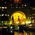 Boston Harbor Hotel at Night