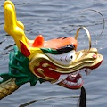 Dragon Boat head - Boston Dragon Boat Festival