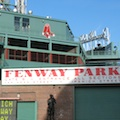Photo of Fenway Park, where tours are available on most days - www.boston-discovery-guide.com