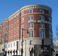 Inexpensive Boston hotels include the Buckminster Hotel near Fenway Park