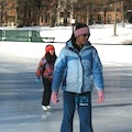 Ice Skating in Boston