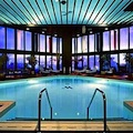 Swimming pool at Marriott Long Wharf Hotel in Boston