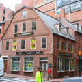 Freedom Trail in Boston - Old Corner Bookstore