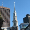 Park Street Church in Boston on the Freedom Trail