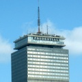 Photo of the top of Boston's Prudential Tower - www.boston-discovery-guide.com
