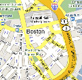Boston map