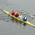 Head of the Charles Regatta in Boston, Massachusetts
