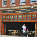 Boston Back Bay restaurants - Sonsie Restaurant
