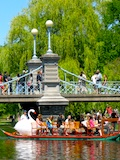 Boston Trolley Tour Stop - Boston Public Garden