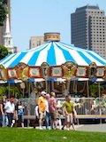 Boston Trolley Tour Stop - Boston Common