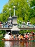 Boston Trolley Tour Stop - Boston Public Garden