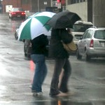 Rainy day in Boston