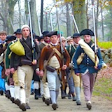 Patriots Day Reenactments in Boston