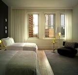 Ames Hotel room in Boston Massachusetts