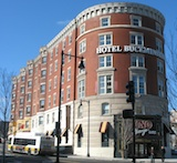 Buckminster Hotel near Fenway Park in Boston