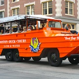 Boston Duck Tour  - free with Boston discount card