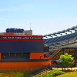 Gillette Stadium, home to New England Patriots