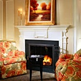 Boston hotels with fireplaces for Christmas visits
