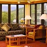 Photo of Mount Club on Loon Resort - condo living room and mountain views