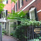 Nichols House in Boston's Beacon Hill neighborhood