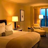 Ritz-Carlton Boston Hotel provides spectactular views of Boston Common