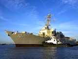 USS Gravely visit to Boston for Tall Ships