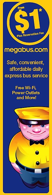 Megabus tickets Boston New York
