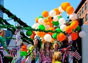 St Patrick's Day parade in Boston