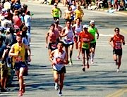 Find hotels near the Boston Marathon route