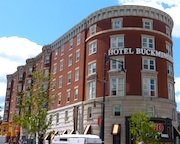 Hotel Buckminster, near Fenway Park in Boston
