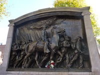See the 54th Regiment Memorial when you tour Boston Common