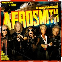 Aerosmith concert at TD Garden in Boston July 17