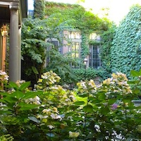 Beacon Hill hidden garden photo by