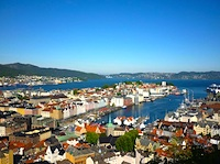 Photo of Bergen, Norway - photo courtesy of