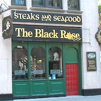 Photo of the Black Rose in Boston
