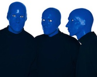Blue Man Group in Boston Theater