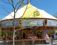 Carousel on Rose Kennedy Greenway