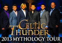 Celtic Thunder Mythology 2013 concert in Boston