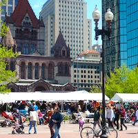 Summer Arts weekend in Boston