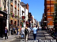 Temple Street in Dublin, Ireland - photo courtesy ofThorsten Pohl