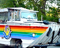 Duck Boat - Popular Boston sightseeing tour