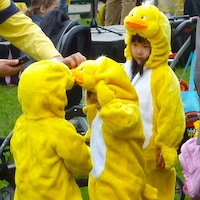 Boston's Duckling Day Parade