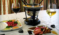 French dinner featuring Fondue at The Wine Cellar in Boston - half price with Groupon