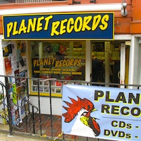 Planet Records in Harvard Square