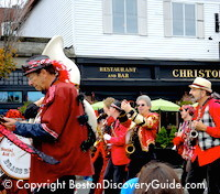Photo of HONK Festival band - coming to Boston on Columbus Day Weekend - Photo courtesy of Jeremy Goldstein