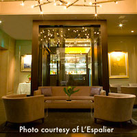 L'Espalier restaurant in Boston